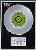 "ALICE COOPER -  7"" Platinum Disc - SCHOOLS OUT"